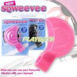 英國SQWEEL-Sqweevee舌輪鋼砲-專用配件+震動棒