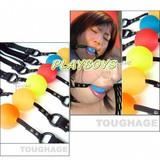 美國駭客Toughage-玉口枷(PVC)