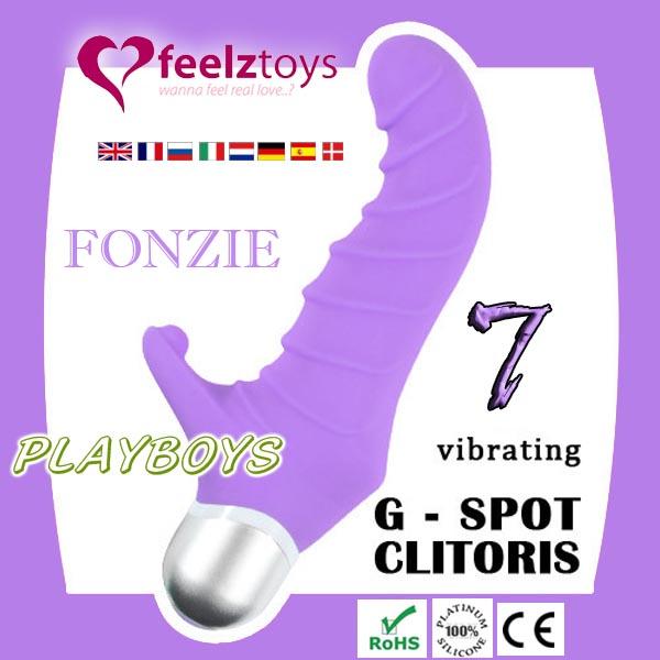 荷蘭feelztoys - Fonzie七段變頻G點防水按摩棒