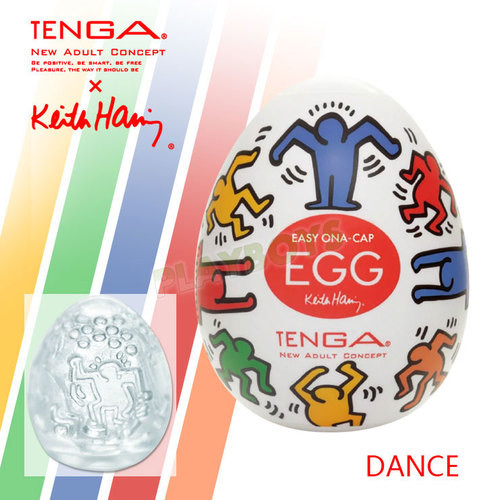 TENGA自慰蛋EGG X Keith Haring(DANCE)