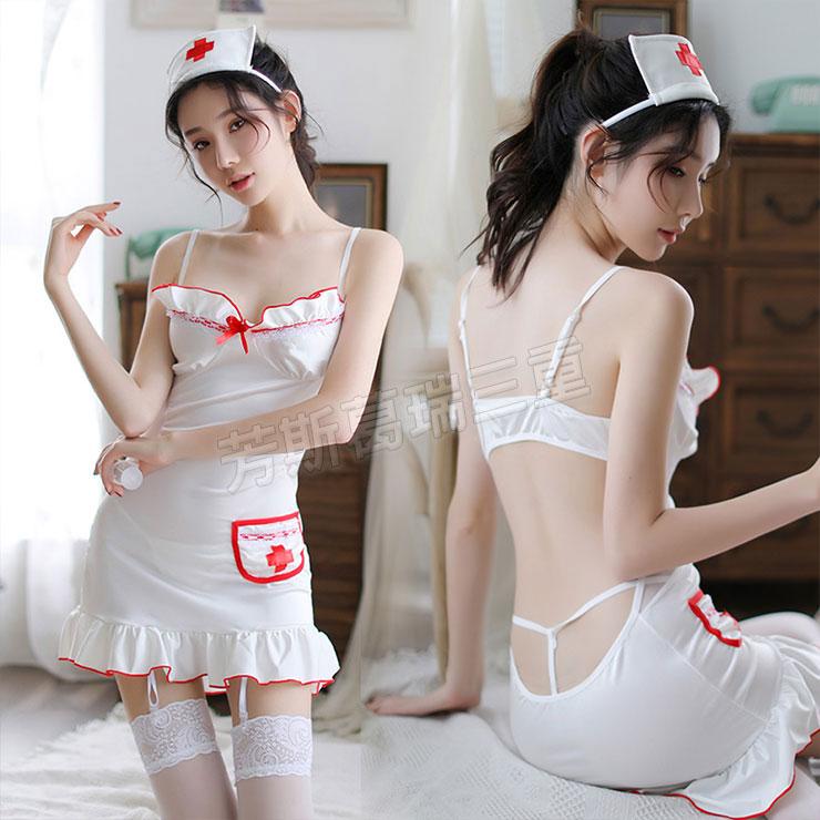 撩欲診間 嬌羞護士服